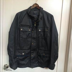 Nautica Waxed Cotton All Weather Jacket Coat